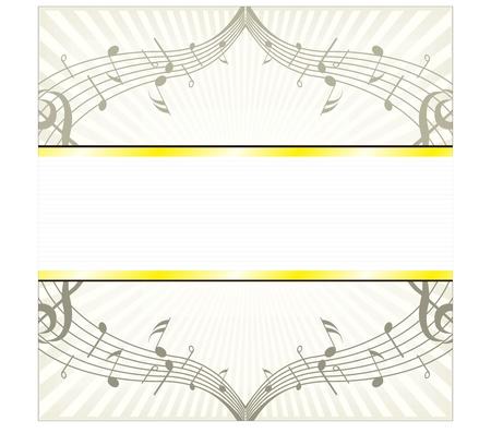 musical score: Read music