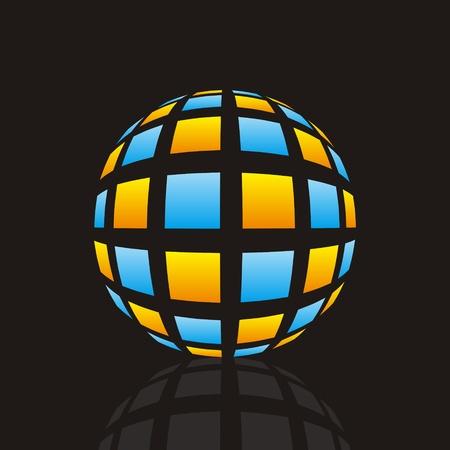 Circular design Vector