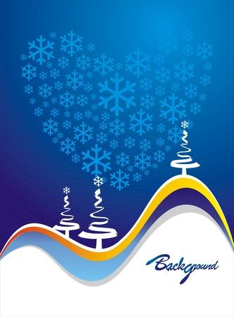 christmas cover: Christmas cover design Illustration
