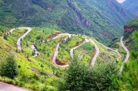 Mountain highway Stock Photo - 11370753