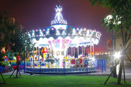 Merry-go-round photo