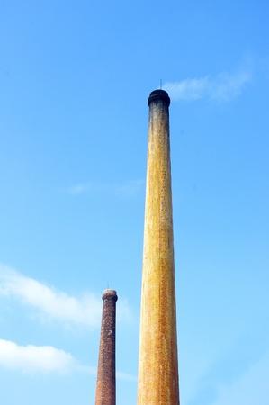 Chimney emissions photo