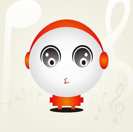 Music Baby Design Stock Vector - 11621794