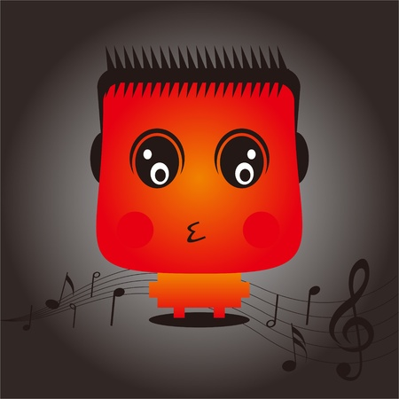 Music Baby Design Vector