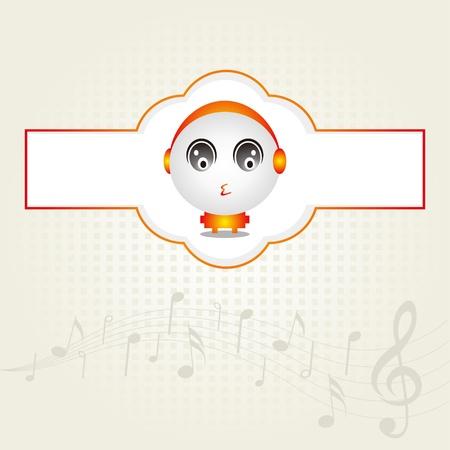 Music Baby Design Stock Vector - 11621830