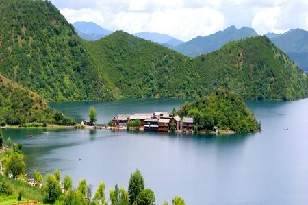 China Lijiang Lugu Lake photo