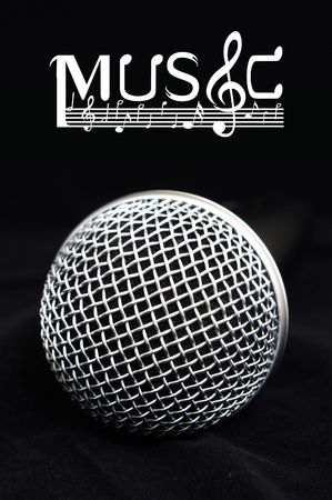 Microphone close-up Stock Photo - 11708219