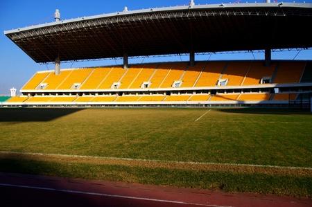 grandstand: Stadium Editorial