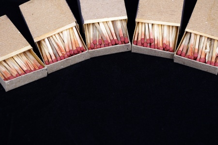 Close-up matches photo