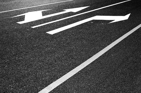 Road arrow photo