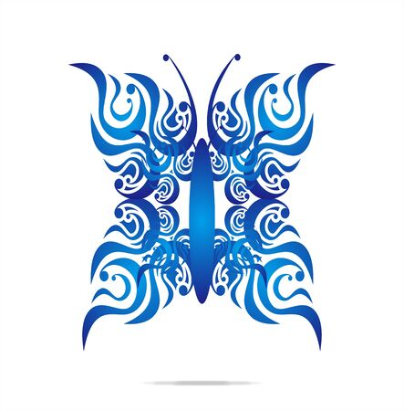 Butterfly pattern design Stock Vector - 11902736