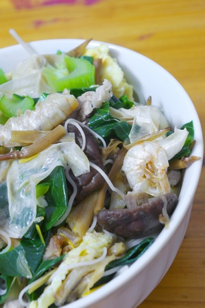 Chinese noodles photo