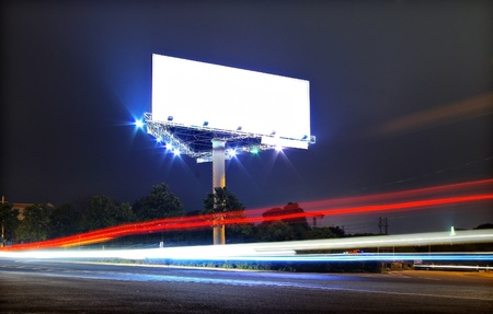 Traffic advertising photo
