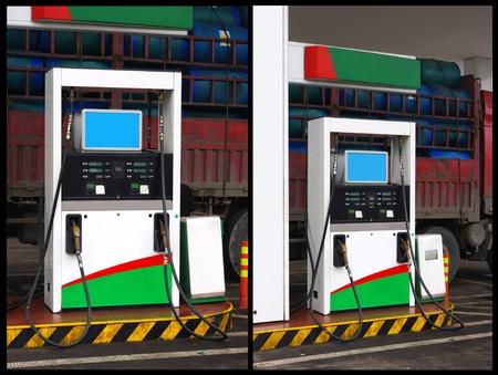 Gas station photo