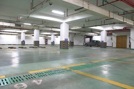 parking facilities: Underground parking