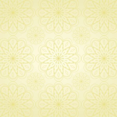 Seamless Damask wallpaper Stock Vector - 12749646