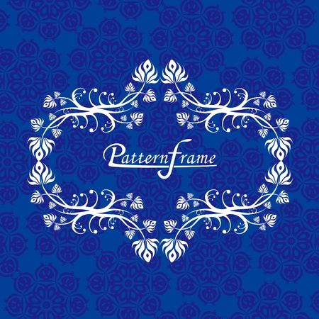 Pattern border shading vector background Vector