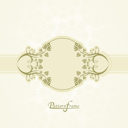 Pattern border shading vector background