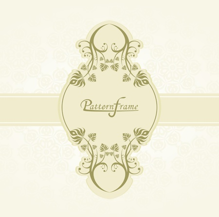 Pattern border shading vector background Stock Vector - 12749626