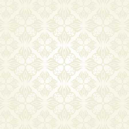 Seamless Damask wallpaper Stock Vector - 12749463
