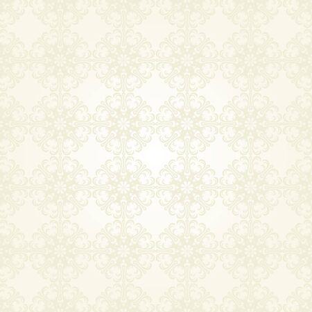 Seamless Damask wallpaper Stock Vector - 12749651