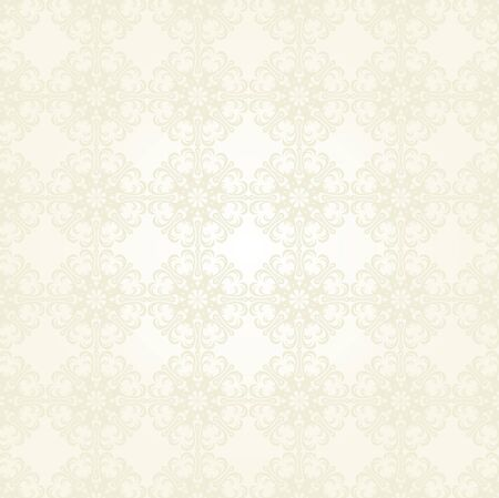 Seamless Damask wallpaper Stock Vector - 12749651