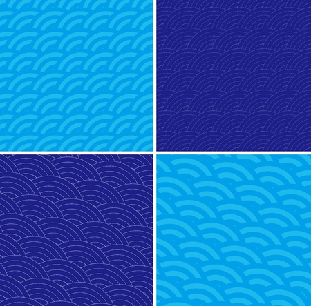 Retro background shading design Vector