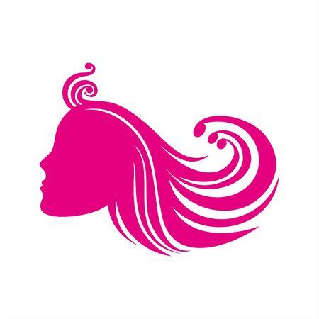 Mädchen Haar-Styling Standard-Bild - 12749112