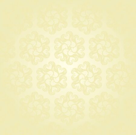 Seamless Damask wallpaper Stock Vector - 12749641