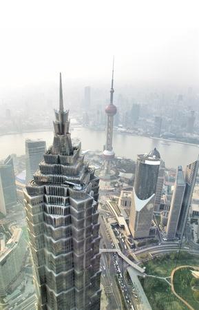 Dusk Shanghai panoramic