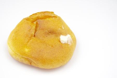 choux bun: Cream puffs Stock Photo