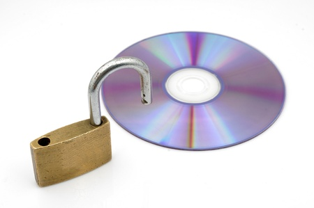 CD-ROM and locks photo