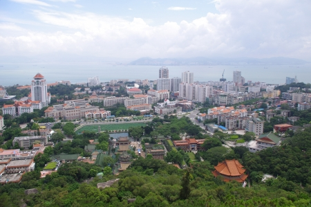 Xiamen panoramic photo