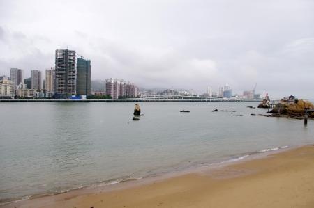 China Xiamen skyline photo
