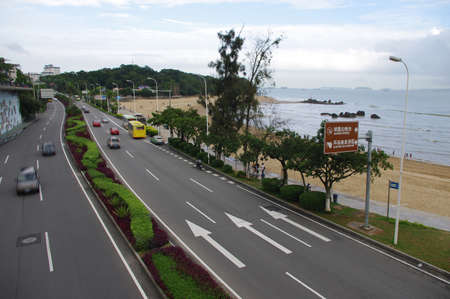Coastal highway photo