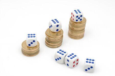 crap: Dice and money