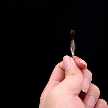 night stick: Matches smoke