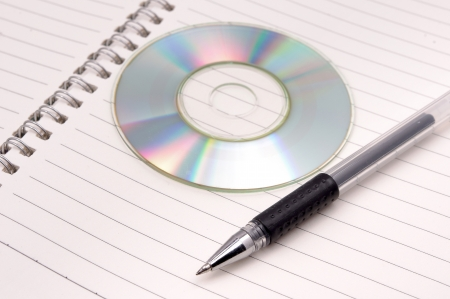 optical disk: CD-ROM and book