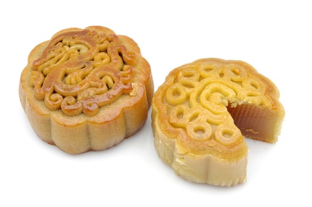 Mid-Autumn Festival moon cake photo