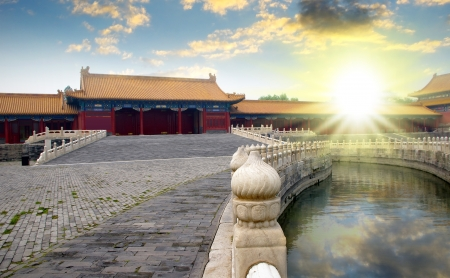 Imperial Palace in Beijing, China
