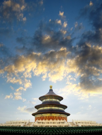 Temple of Heaven in Beijing, China Stock Photo - 17167994