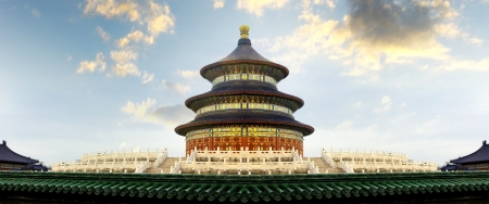 chinese temple: Temple of Heaven in Beijing, China Editorial