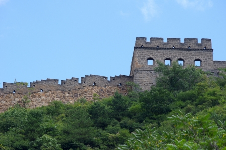 China Great Wall Sunshine photo
