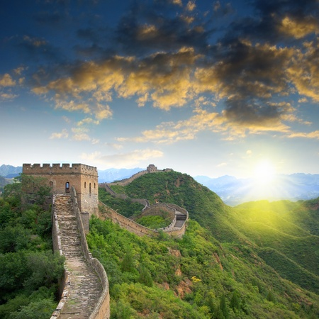 Beijing Great Wall of China Stock Photo - 17168253