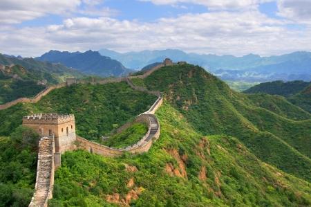 Pechino Grande Muraglia cinese Archivio Fotografico - 15650772