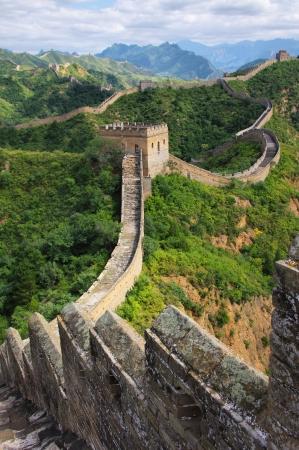 中國的北京長城