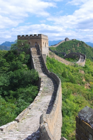 Pechino Grande Muraglia cinese Archivio Fotografico - 15622694
