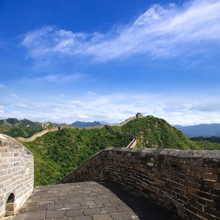 Beijing Great Wall of China Stock Photo - 17168256