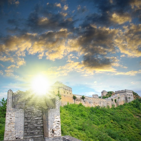 Beijing Great Wall of China Stock Photo - 17168273