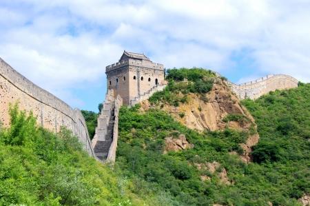유명한: 중국의 베이징 만리장성